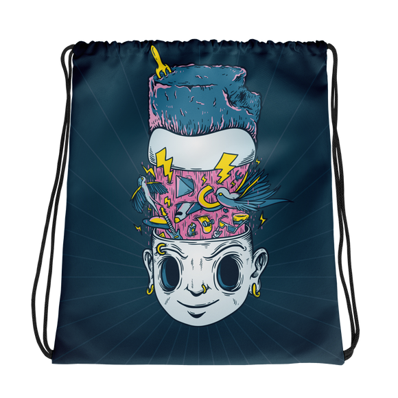 Mind Tricks Drawstring bag