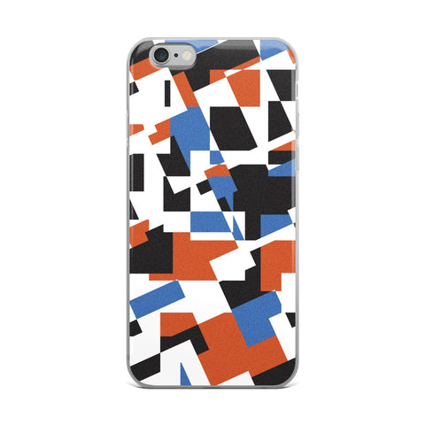 Layered Shapes iPhone Case