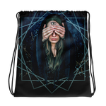 Third Eye Drawstring bag