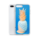 Painted Pineapple iPhone Case