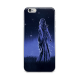 Galaxy Lady iPhone Case