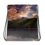Mountain Clouds Drawstring bag