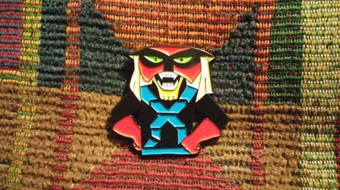 Brakcision Cartoon EDM Bass Music Dubstep DJ Festival Enamel Lapel Hat Pin