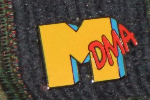 MDMA Molly Ecstasy Moon Rocks MTV Parody Pin Jam Band Festival Tour Enamel Pin