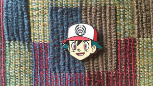 EDM Cartoon Hat Pin