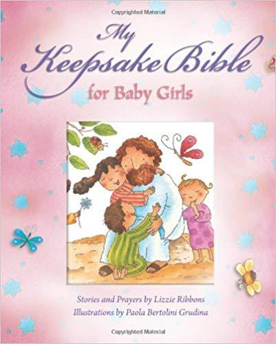 My Keepsake Bible: For Baby Girls (Pink)