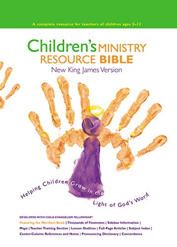 NKJV, Children's Ministry Resource Bible, Hardcover: Helping Children Grow in the Light of God's Word