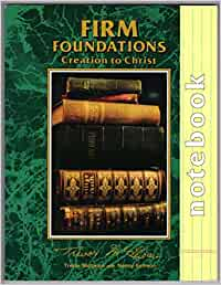 """Firm foundations: Creation to Christ Notebook"" by Trevor Mcilwain"