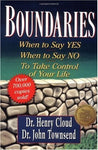 """Boundaries: When to Say Yes, How to Say No to Take Control of Your Life"" by Henry Cloud and John Townsend"