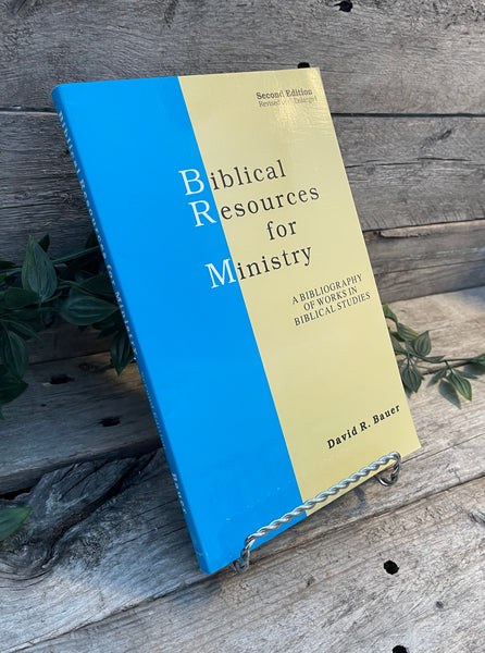 """Biblical Resources for Ministry: A Bibliography of Works in Biblical Studies"" by David R. Bauer"