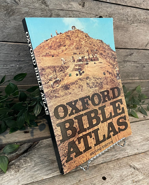 Oxford Bible Atlas: Second Edition