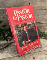 """Pastor to Pastor: Tackling Problems of the Pulpit"" by Erwin W. Lutzer"