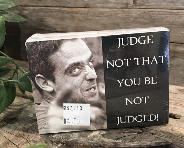 Judge Not That You Be Not Judged! Tract (50 ct)