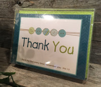 Thank You Cards: Baby Blue