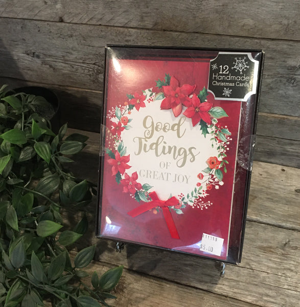 """Good Tidings of Great Joy (12 Handmade Cards)"" by Moments to Treasure"