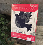 """Wishing You Peace (36 Christmas Cards)"" by Paper Craft"