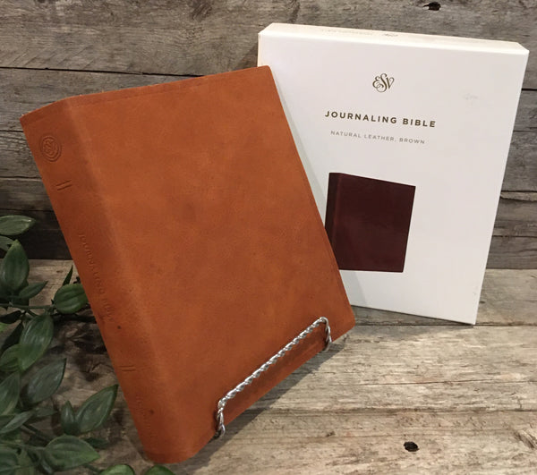 ESV Journaling Bible (Natural Leather, Brown)