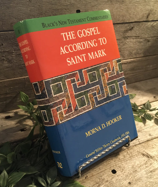 """The Gospel According to Saint Mark: Black's New Testament Commentaries Vol. 2"" by Moran D. Hooker"