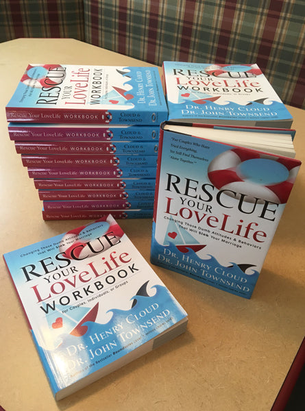 """Rescue Your Love Life"" by Dr. Henry Cloud & Dr. John Townsend (BUNDLE)"