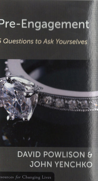 """Pre-Engagement: 5 Questions to Ask Yourselves"" by David Powlison and John Yenchko"