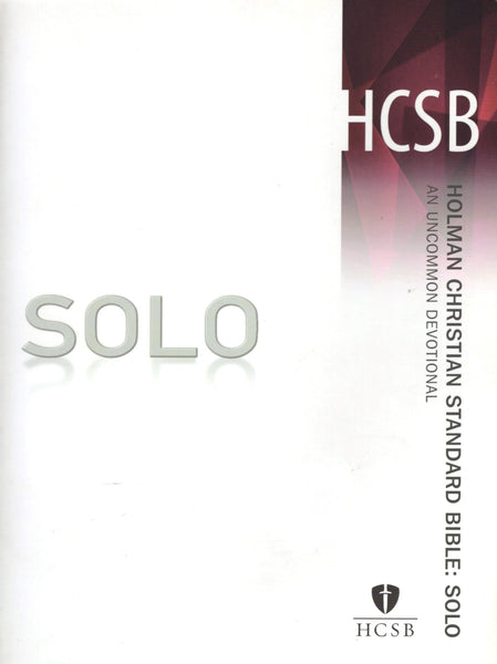 """HCSB Solo: An Uncommon Devotional"""