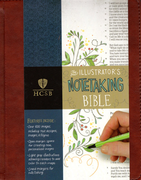 """The Illustrator's Notetaking Bible (HCSB)"""