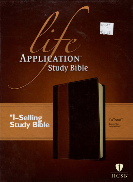 """HCSB Life Application Study Bible (TuTone, Brown/Tan, Leatherlike)"""