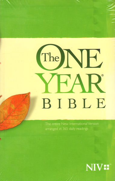 """The One Year Bible: The entire New International Version Arranged in 365 Daily Readings"""