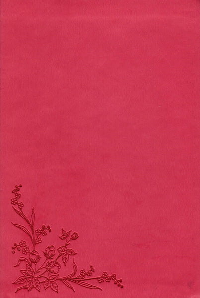 """NLT Compact Bible (pink floral)"""