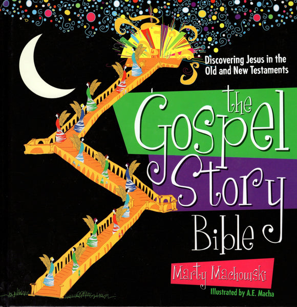 """The Gospel Story Bible: Discovering Jesus in the Old and New Testaments"" by Marty Machowski"