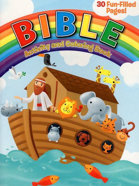 """Bible Activity and Coloring Book"""