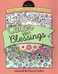 """Color Your Blessings: An Adult Coloring Book For Your Soul"" by Denise Urban"