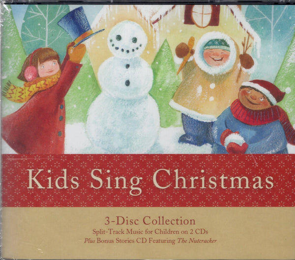 Kids Sing Christmas: 3-Disc Collection (CD)