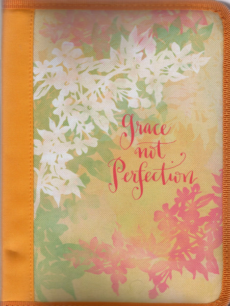 Bible Cover Large Grace not Perfection