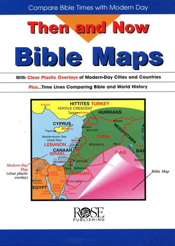 Bible Maps: Then and Now