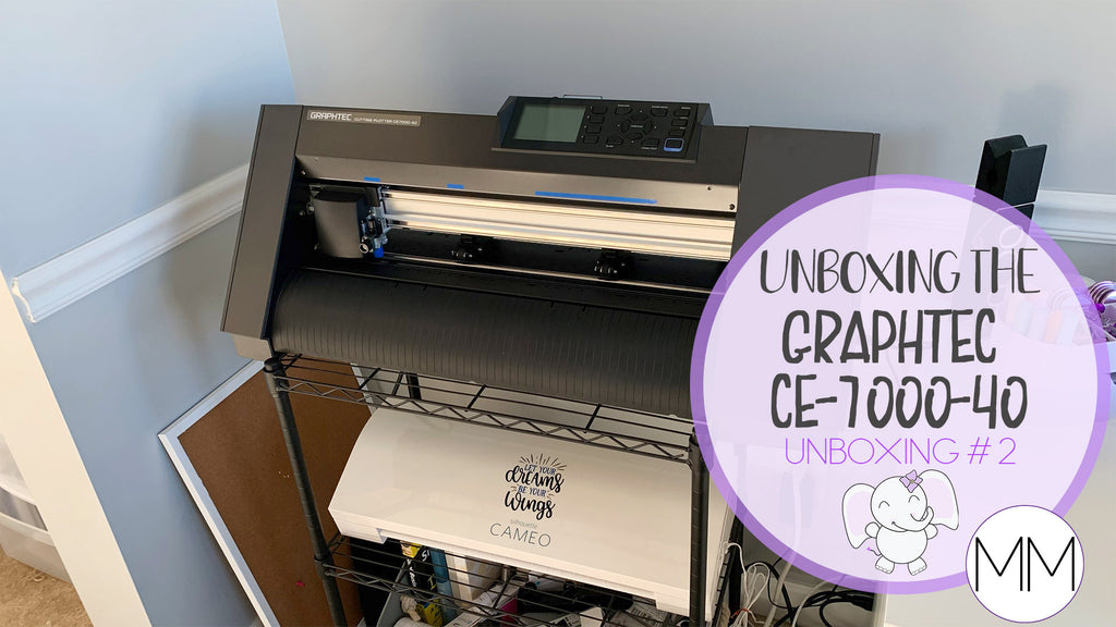 Unboxing the Graphtec CE 7000-40 | Stationery Shop