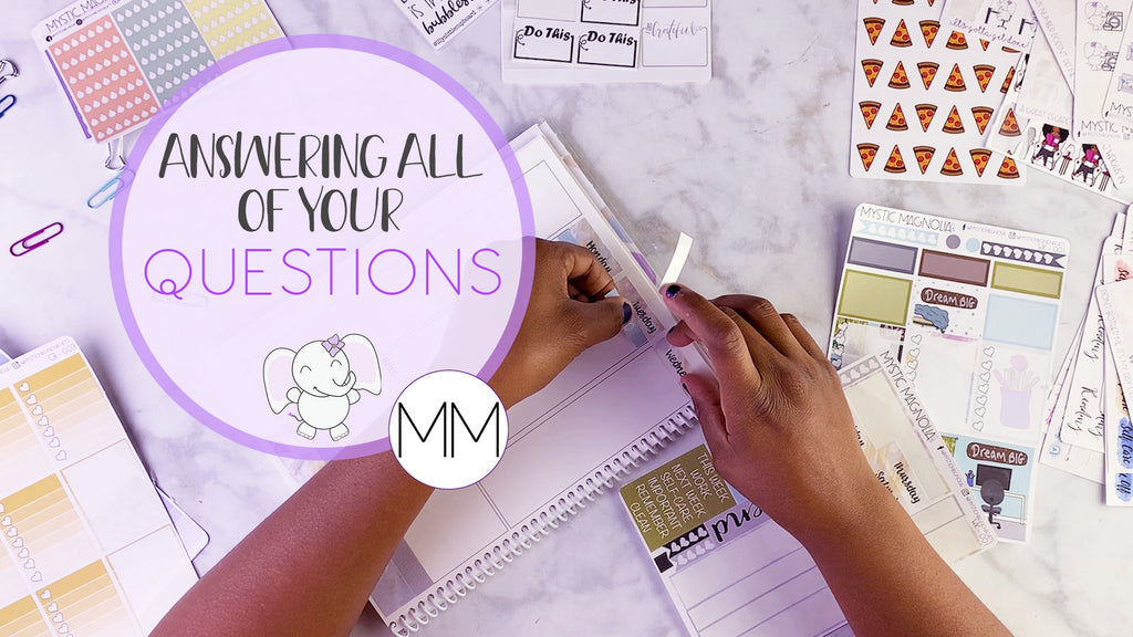 Plan Sept 14- 20 with me | Q& A