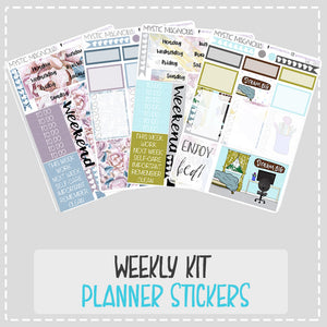 Weekly Planner Sticker Kits