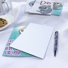 Write to a friend with a journaling card