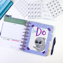 Journaling card as a divider