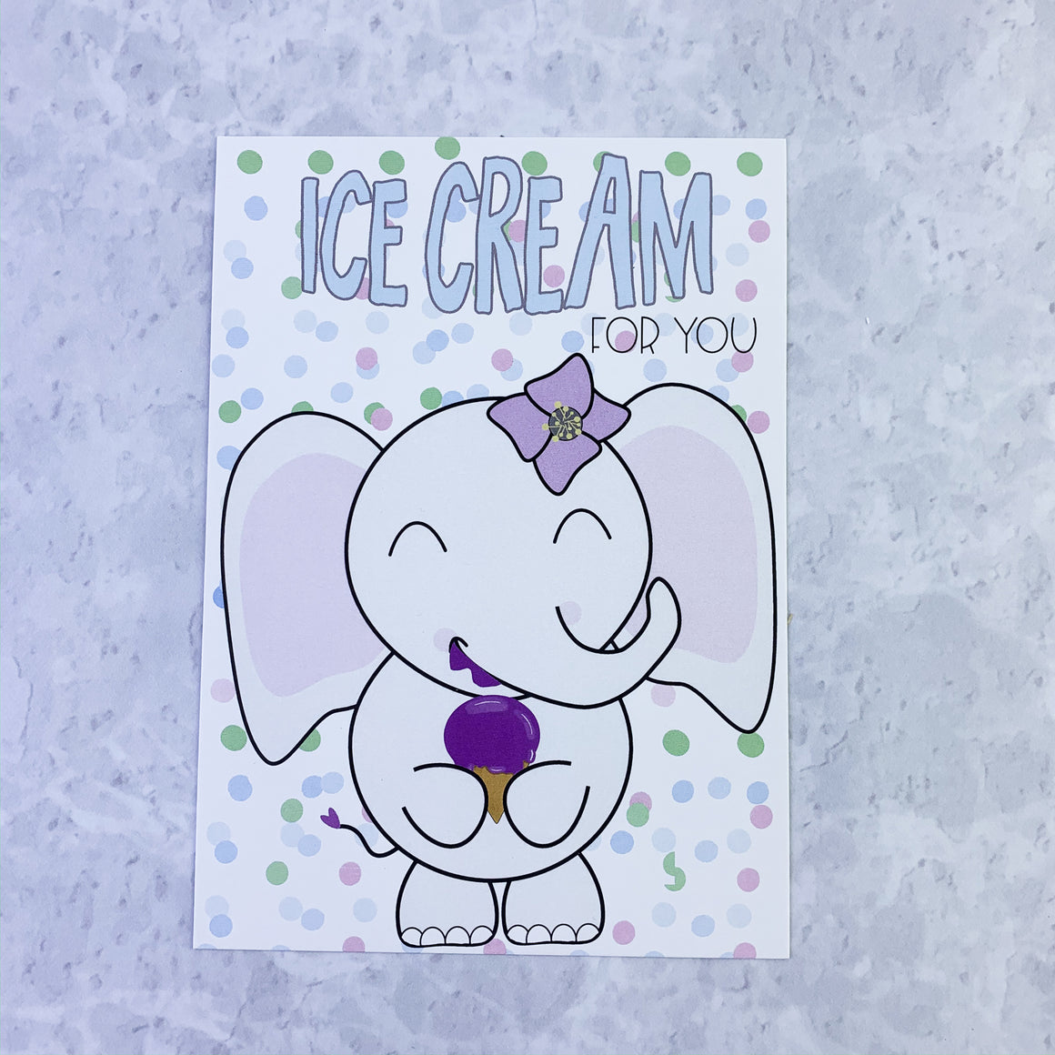 Journaling Cards - Ice Cream for You