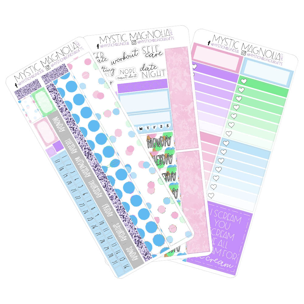 Print Pressions Sticker Kit - A Sweet Life