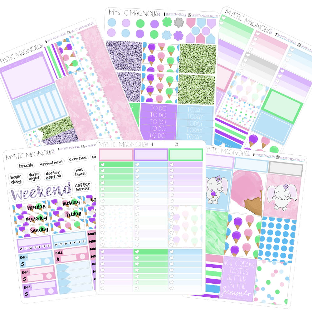 A Sweet Life Planner Sticker Weekly Kit