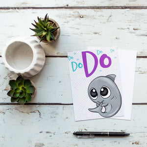 Journaling Cards - Singing Sharky