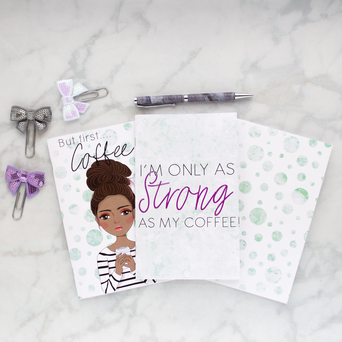 Coffee Mom Mini Book Bundle - Jessica