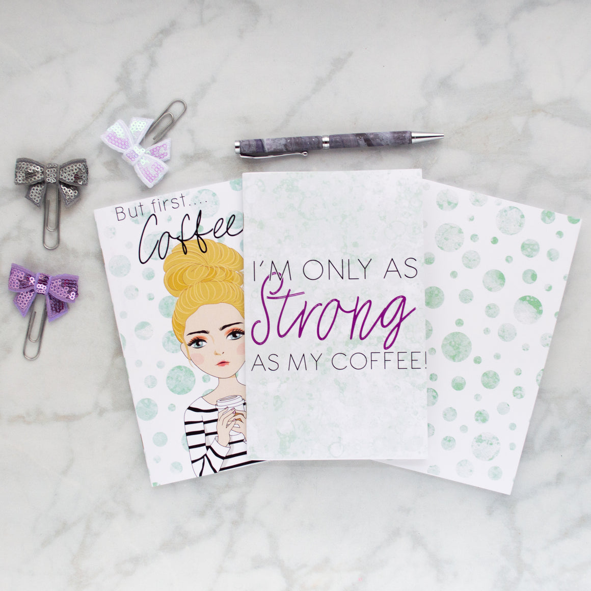 Coffee Mom Mini Book Bundle - Christie