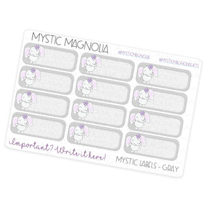 Mystic Labels Planner Sticker Sheet