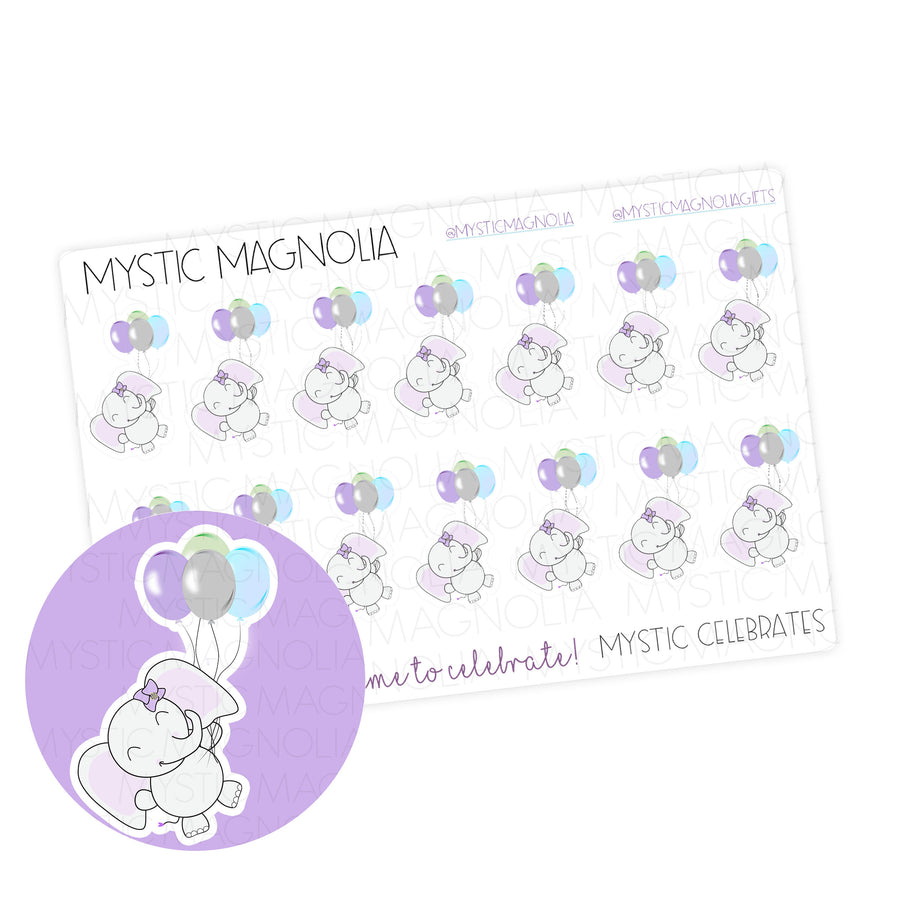 Mystic Celebrates Planner Sticker Sheet