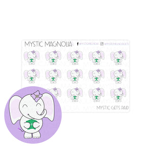 Mystic Gets Paid Planner Sticker Sheet