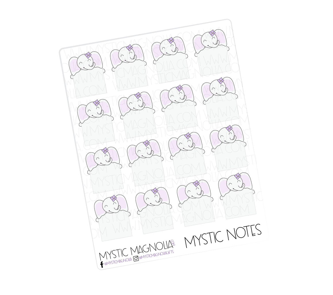 Mystic Notes Planner Sticker Sheet
